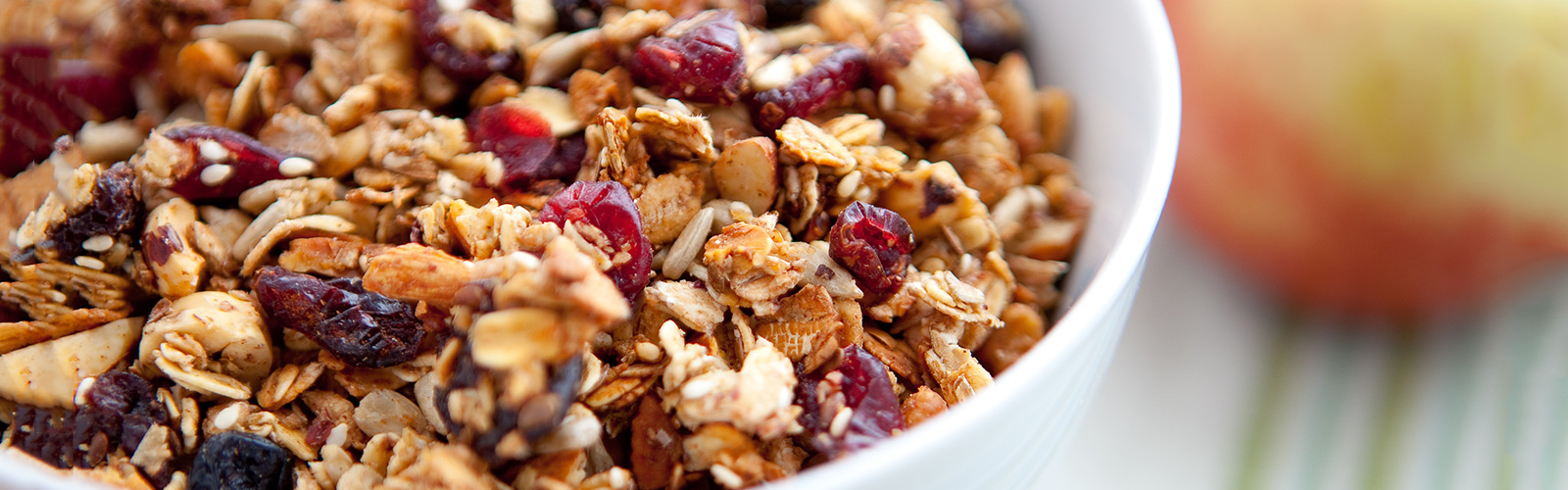 Oat and Apple Granola