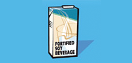 fortified soy beverage