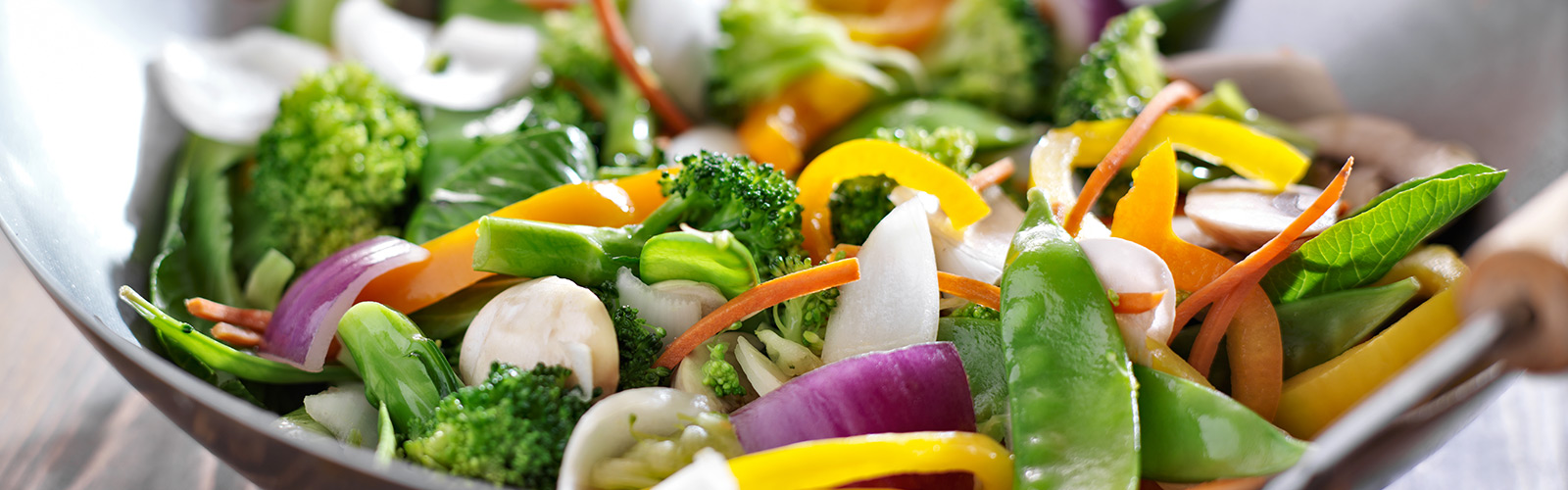 Rainbow Vegetable Stir-Fry
