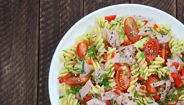 Wheat and Gluten-Free Tuna Macaroni Salad