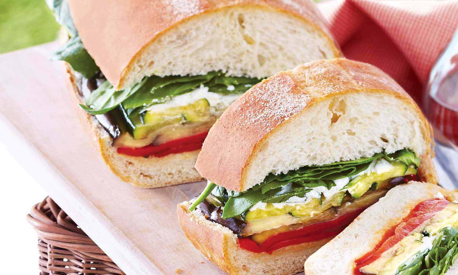 Ultimate Grilled Veggie Sandwich