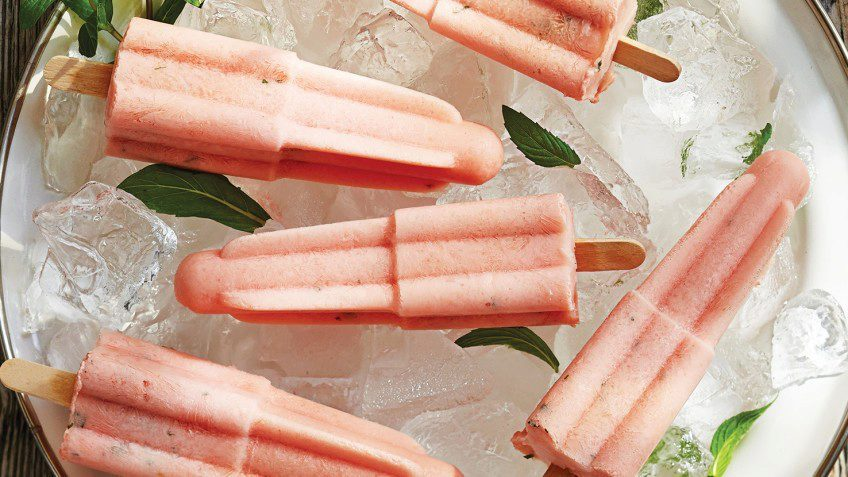 watermelon mint pops